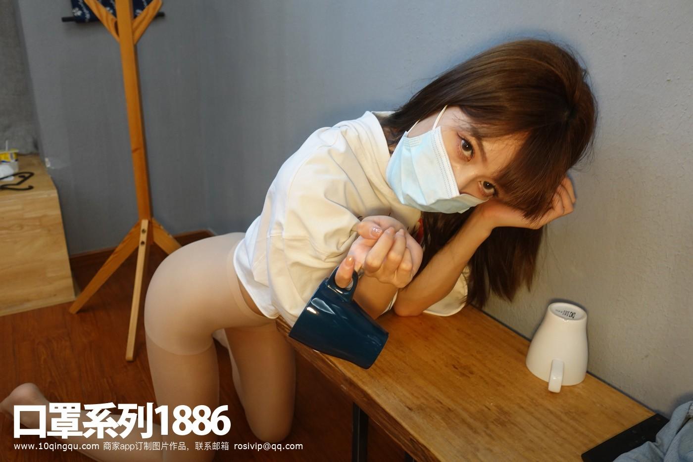 口罩系列1886套装 衣服+丝袜